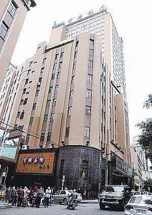 川盐银行大楼旧址。